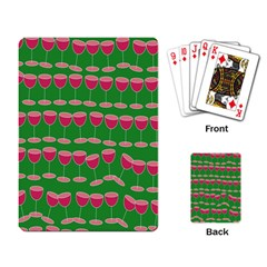 Wine Red Champagne Glass Red Wine Playing Card