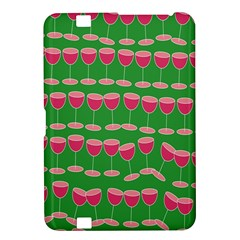 Wine Red Champagne Glass Red Wine Kindle Fire HD 8.9