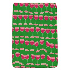 Wine Red Champagne Glass Red Wine Flap Covers (L)