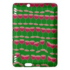 Wine Red Champagne Glass Red Wine Kindle Fire Hdx Hardshell Case