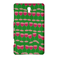 Wine Red Champagne Glass Red Wine Samsung Galaxy Tab S (8.4 ) Hardshell Case