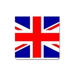 Union Jack Flag Square Magnet