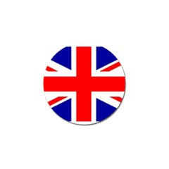 Union Jack Flag Golf Ball Marker (4 Pack)