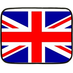 Union Jack Flag Fleece Blanket (Mini)