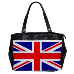 Union Jack Flag Office Handbags