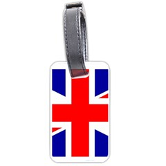 Union Jack Flag Luggage Tags (Two Sides)