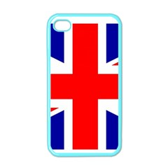Union Jack Flag Apple iPhone 4 Case (Color)