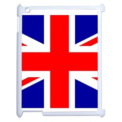 Union Jack Flag Apple iPad 2 Case (White)
