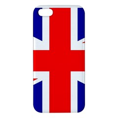 Union Jack Flag Apple iPhone 5 Premium Hardshell Case