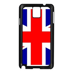 Union Jack Flag Samsung Galaxy Note 3 N9005 Case (black)
