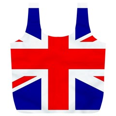 Union Jack Flag Full Print Recycle Bags (l)