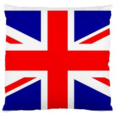 Union Jack Flag Standard Flano Cushion Case (Two Sides)