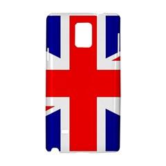 Union Jack Flag Samsung Galaxy Note 4 Hardshell Case