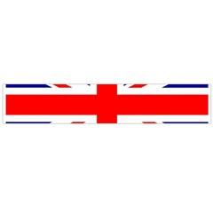 Union Jack Flag Flano Scarf (Large)