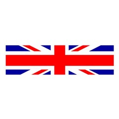 Union Jack Flag Satin Scarf (oblong)