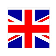 Union Jack Flag Small Satin Scarf (Square)