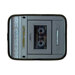 Vintage Tape Recorder Netbook Case (Small)