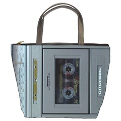 Vintage Tape Recorder Bucket Bags