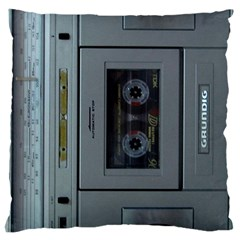 Vintage Tape Recorder Large Cushion Case (Two Sides)
