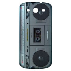 Vintage Tape Recorder Samsung Galaxy S3 S Iii Classic Hardshell Back Case