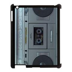 Vintage Tape Recorder Apple iPad 3/4 Case (Black)