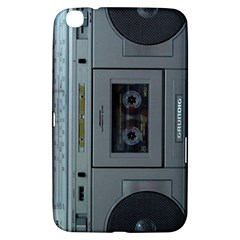 Vintage Tape Recorder Samsung Galaxy Tab 3 (8 ) T3100 Hardshell Case