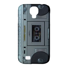 Vintage Tape Recorder Samsung Galaxy S4 Classic Hardshell Case (PC+Silicone)