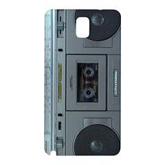 Vintage Tape Recorder Samsung Galaxy Note 3 N9005 Hardshell Back Case