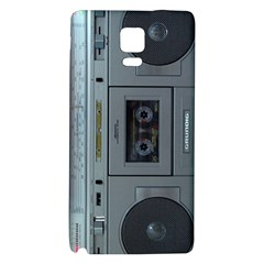 Vintage Tape Recorder Galaxy Note 4 Back Case