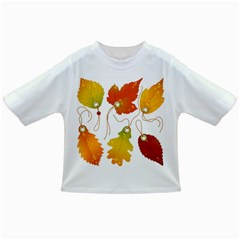 Vector Beautiful Maple Leaf Infant/Toddler T-Shirts