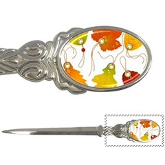Vector Beautiful Maple Leaf Letter Openers