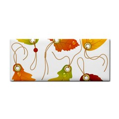 Vector Beautiful Maple Leaf Cosmetic Storage Cases