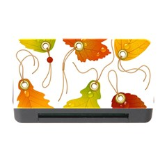 Vector Beautiful Maple Leaf Memory Card Reader with CF