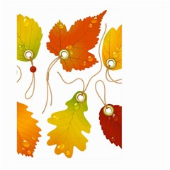 Vector Beautiful Maple Leaf Large Garden Flag (Two Sides)