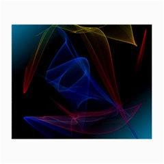 Lines Rays Background Light Pattern Small Glasses Cloth