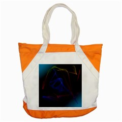 Lines Rays Background Light Pattern Accent Tote Bag