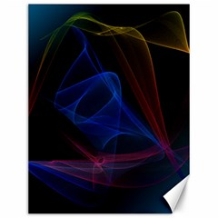 Lines Rays Background Light Pattern Canvas 12  x 16