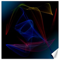 Lines Rays Background Light Pattern Canvas 16  x 16