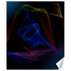 Lines Rays Background Light Pattern Canvas 20  x 24