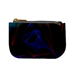 Lines Rays Background Light Pattern Mini Coin Purses