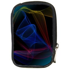 Lines Rays Background Light Pattern Compact Camera Cases