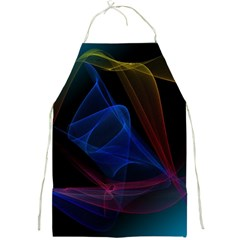 Lines Rays Background Light Pattern Full Print Aprons