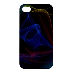 Lines Rays Background Light Pattern Apple iPhone 4/4S Hardshell Case