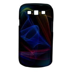 Lines Rays Background Light Pattern Samsung Galaxy S Iii Classic Hardshell Case (pc+silicone)