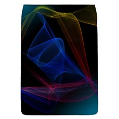 Lines Rays Background Light Pattern Flap Covers (S)