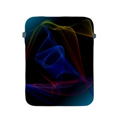 Lines Rays Background Light Pattern Apple iPad 2/3/4 Protective Soft Cases