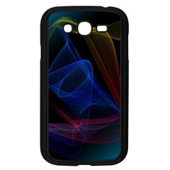 Lines Rays Background Light Pattern Samsung Galaxy Grand DUOS I9082 Case (Black)