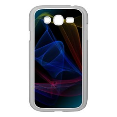 Lines Rays Background Light Pattern Samsung Galaxy Grand DUOS I9082 Case (White)