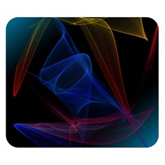 Lines Rays Background Light Pattern Double Sided Flano Blanket (Small)