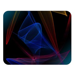 Lines Rays Background Light Pattern Double Sided Flano Blanket (Large)